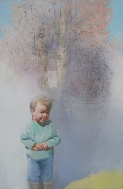 Easter, 128 x 82, acrylics on cardbord
