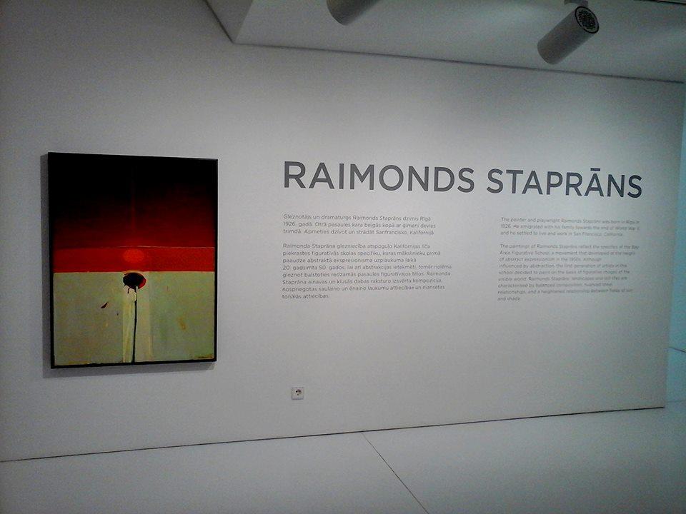 """Raimonda Staprāna darbu izstāde """"Piecas gleznas"""" – LNMM"""