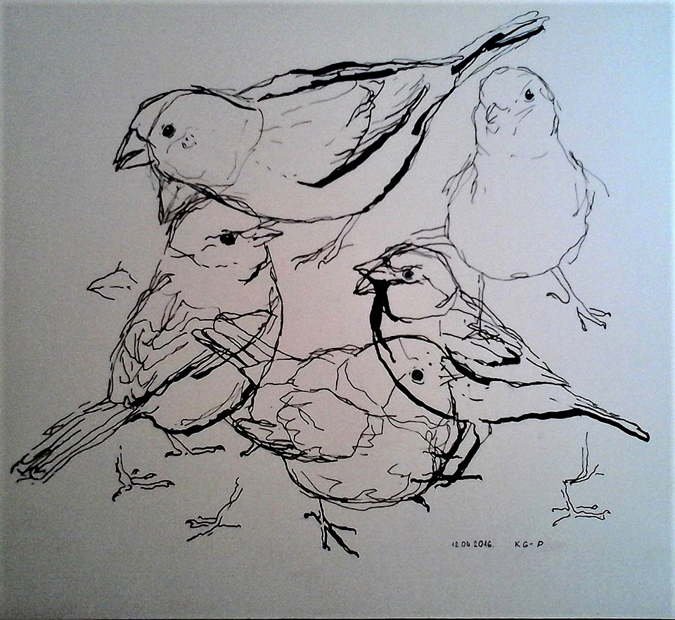 Kristīne Graudule-Putniece. Zīmēšanas maratons – 366 diena